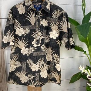 ✨ HP ✨Ono & Company Authentic Hawaiian Aloha Shirt